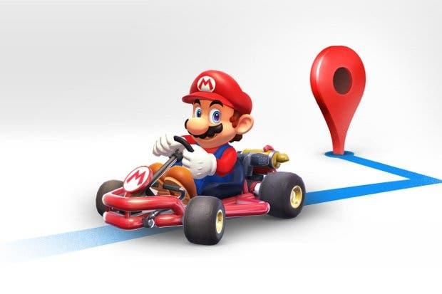 Llega Mario Kart a Google Maps