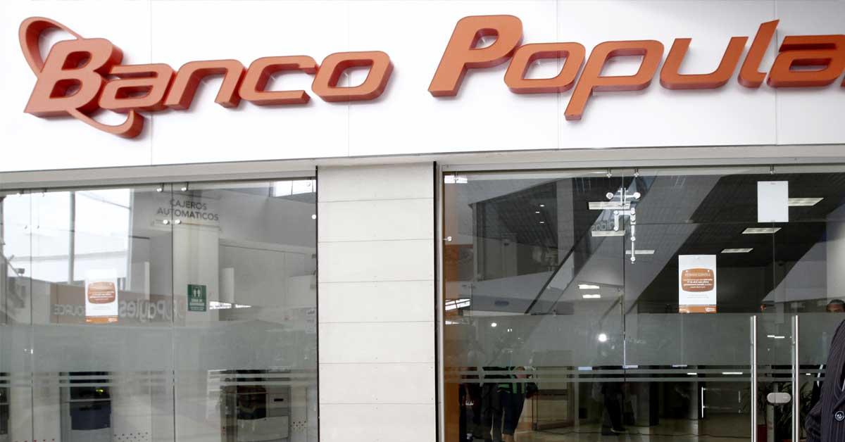 Banco Popular garantiza normalidad en operaciones pese a allanamiento