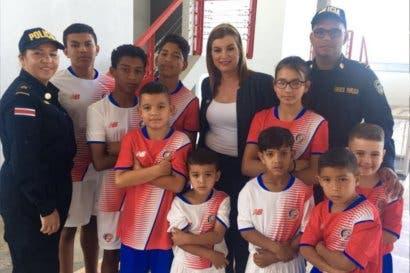 Fedefutbol y Fuerza Pública  fortalecerán  seguridad en jóvenes vulnerables