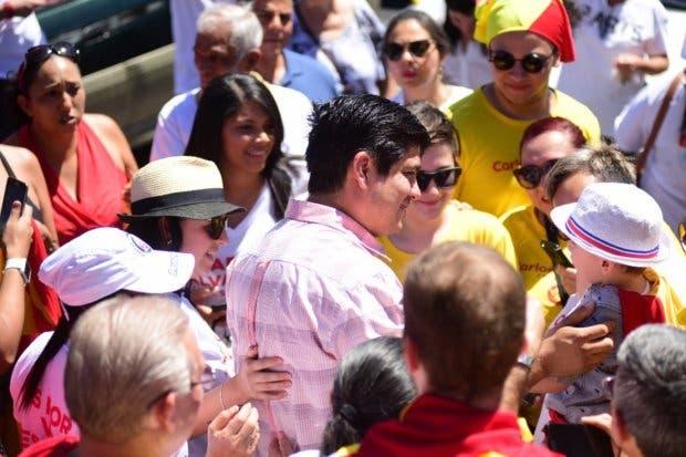 Carlos Alvarado promete mayor énfasis a turismo sostenible