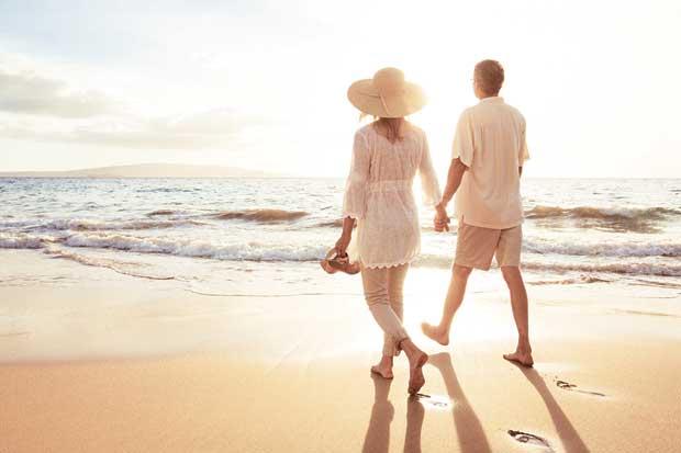 Costa Rica es uno de los destinos más románticos para adultos mayores