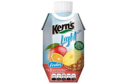 Kern's lanzó línea de néctares light