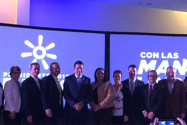Fabricio Alvarado presentó su equipo Social, Salud, Política Exterior y Juventud