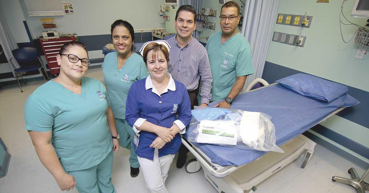 Hospital Clínica Bíblica es pionero en reciclar ropa quirúrgica