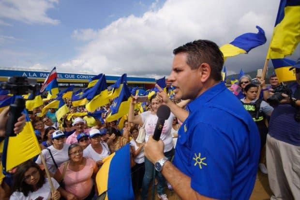 """Fabricio Alvarado: """"Rony Chaves no tendrá participación en mi mandato"""""""