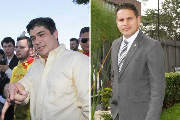 Carlos 42% y Fabricio 43%, según UCR