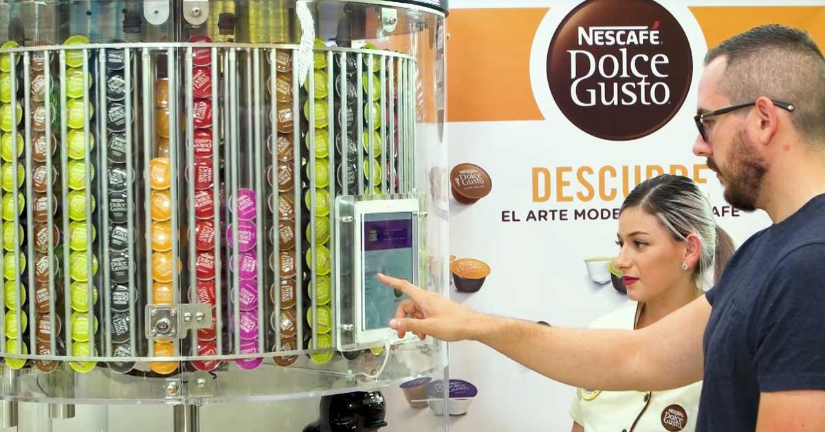 Nestlé lanzó su primera Dolce Store en Walmart Curridabat
