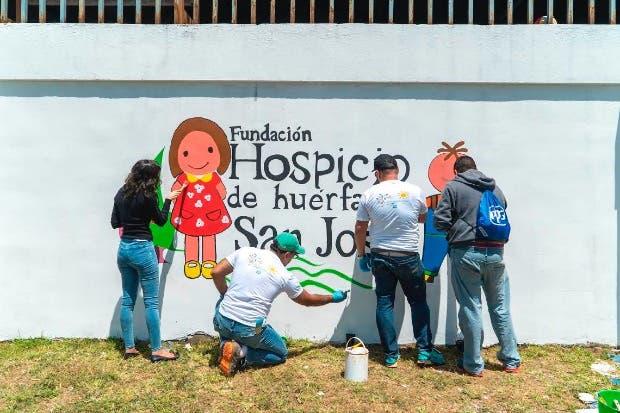 Proyecto llenó de color el Hospicio de Huérfanos de San José