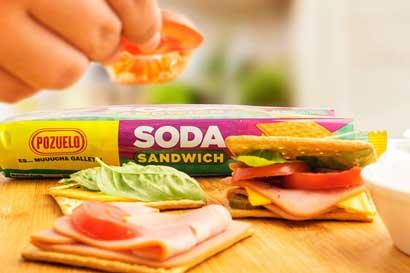 Pozuelo propone reemplazar pan de sándwich por galleta