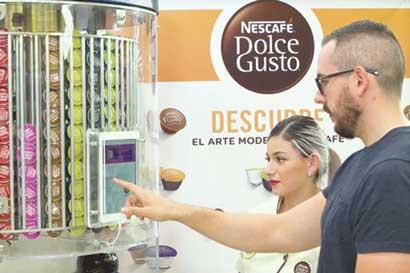 Nestlé instaló su primera Dolce Store en Curridabat