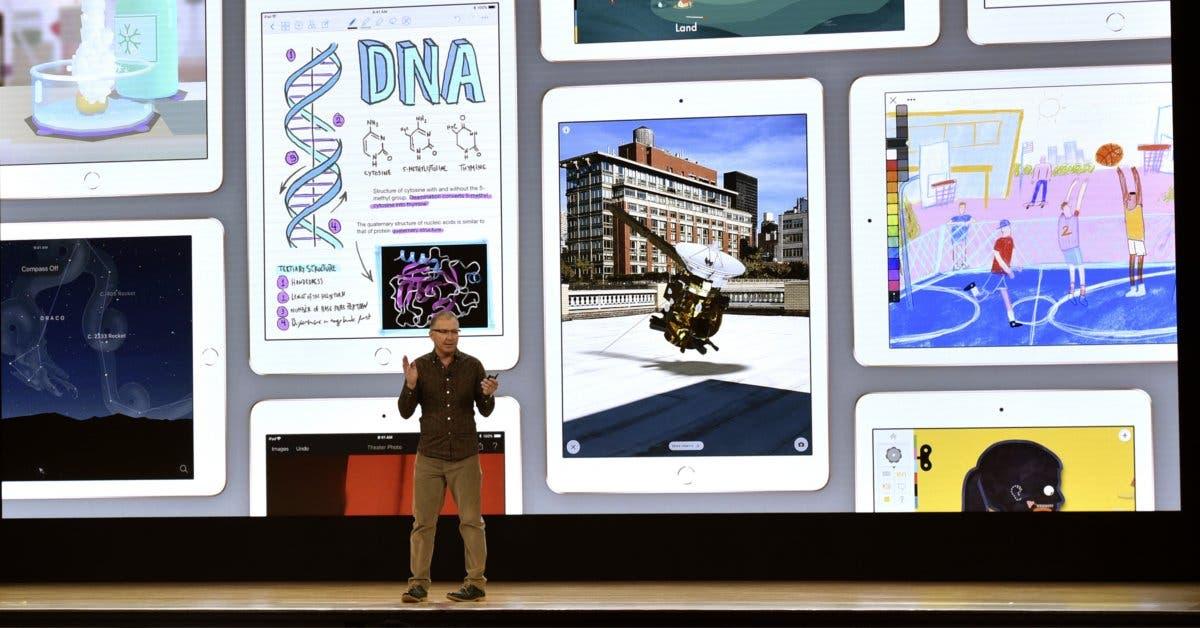 Apple lanzó iPad especial para la educación de niños y jóvenes