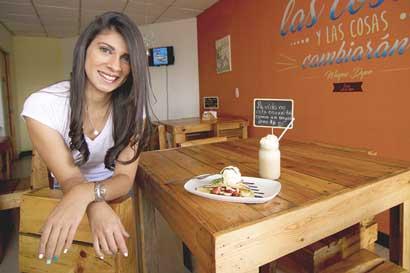Asesorías y recetas familiares convirtieron a joven en empresaria