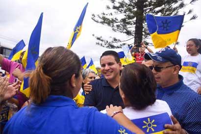 Tendencia de Fabricio Alvarado arranca jornada electoral con confianza