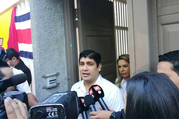 Carlos Alvarado llamó a reducir el abstencionismo