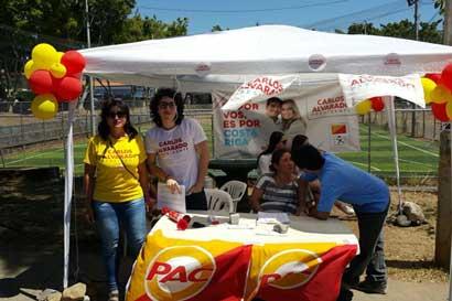 """Grupo Coalición Costa Rica reporta """"bastante abstencionismo en todo el país"""""""