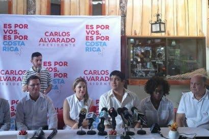 Carlos Alvarado: Gracias a la coalición reforzamos Guanacaste, Guápiles y Puntarenas