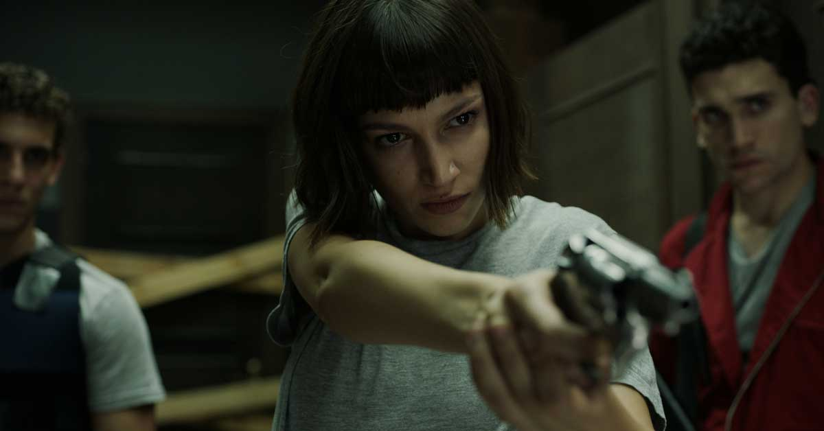 """Netflix presentó el tráiler de """"La Casa de Papel"""""""