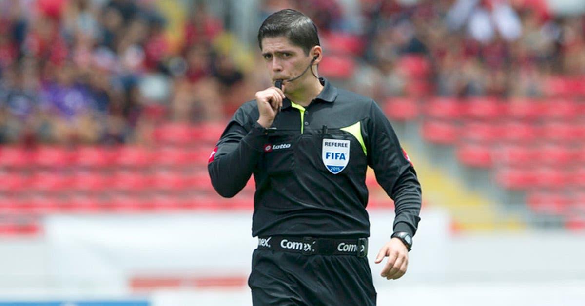 Resultado de imagen para arbitro Ricardo Montero