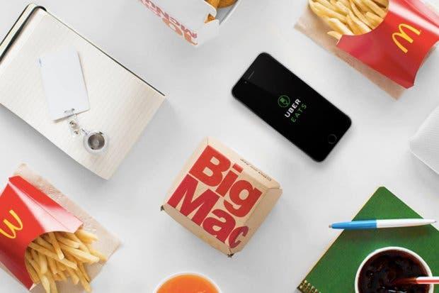 Uber Eats amplía su lista de alianzas ahora con McDonald's dentro del menú