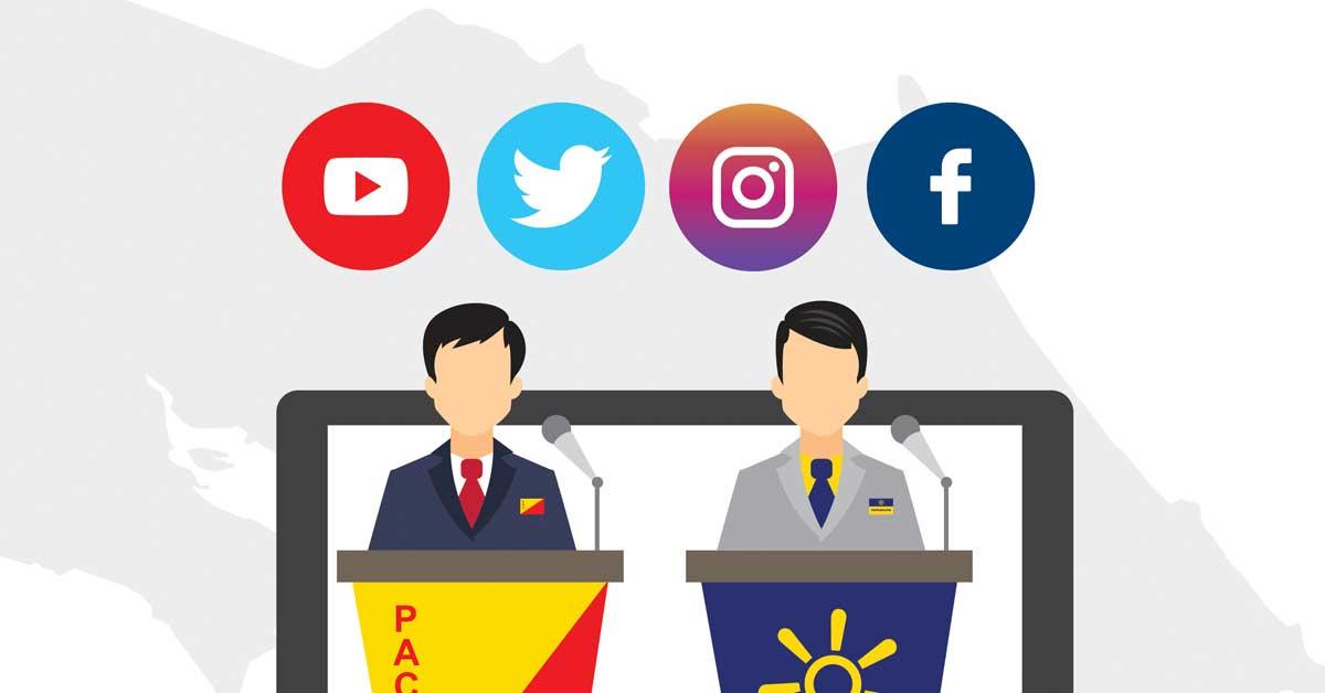 Presidente electo también superó a su contrincante en redes sociales