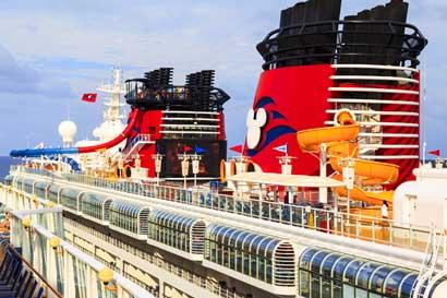 Crucero Disney llegará a Puntarenas este domingo