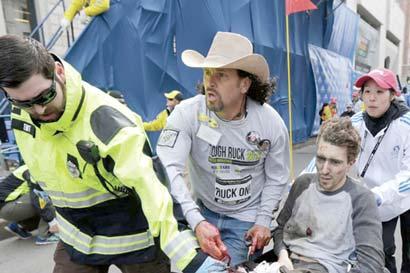 """""""Héroe"""" tico de la Maratón de Boston la correrá por primera vez"""