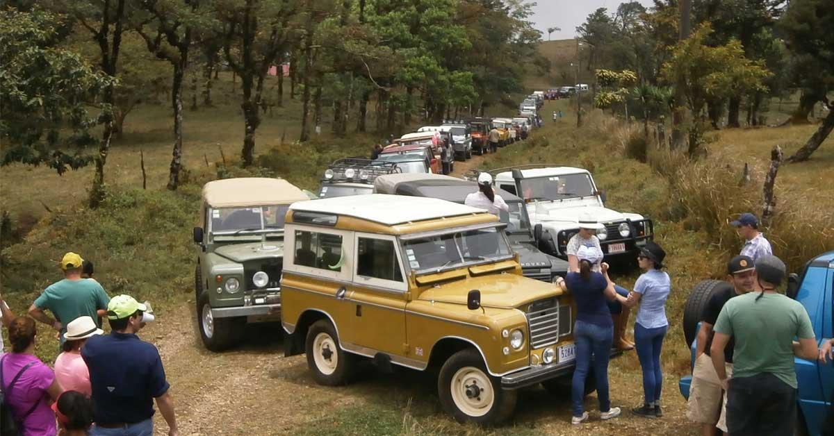 Encuentro Land Rover recorrerá paisajes naturales en circuito 4x4