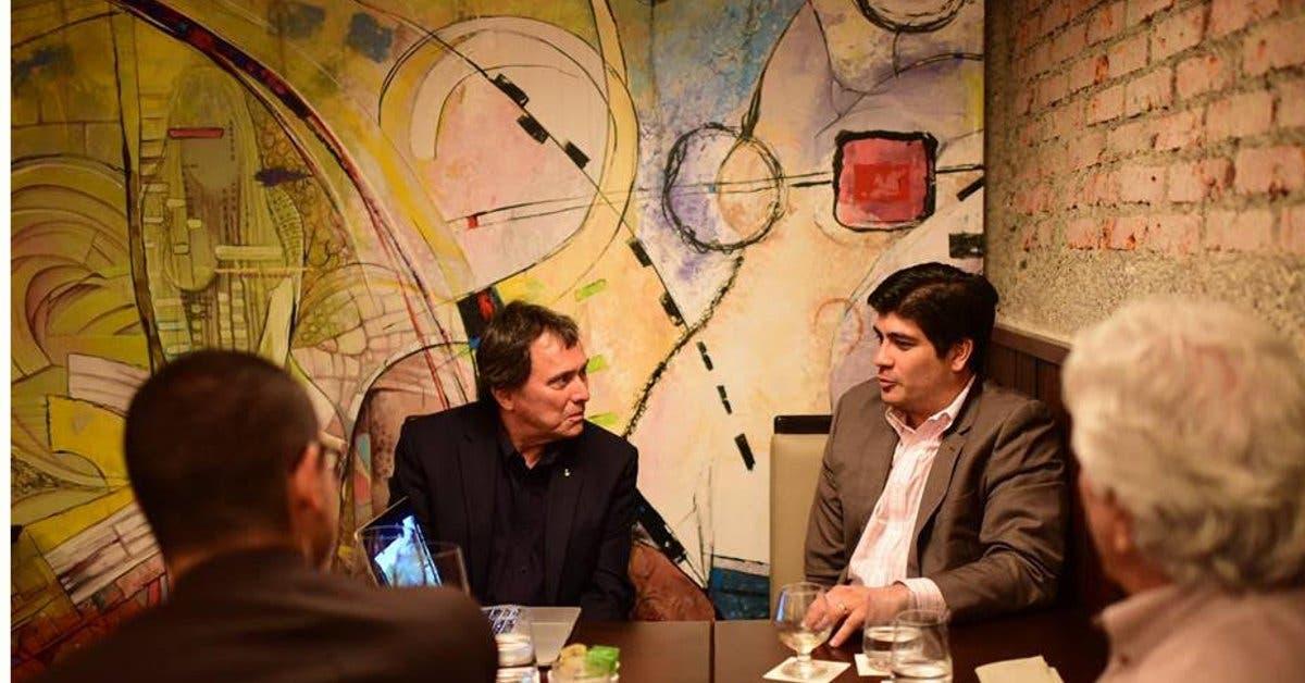 Carlos Alvarado y Franklin Chang trabajarán juntos para descarbonizar Costa Rica