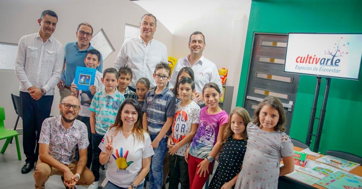 Davivienda inauguró espacio de bienestar infantil