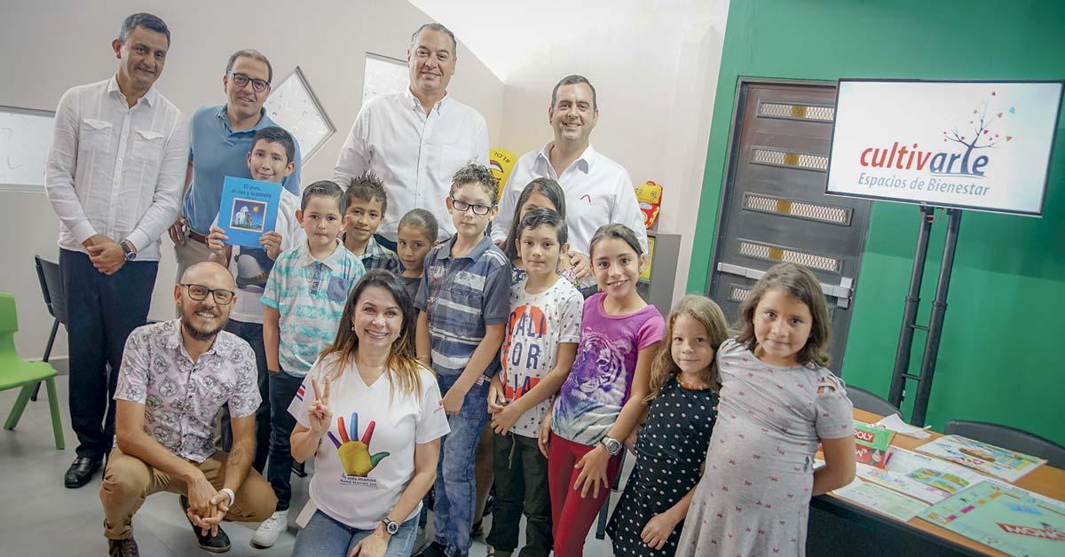 Davivienda inauguró espacio dedicado al arte y la cultura