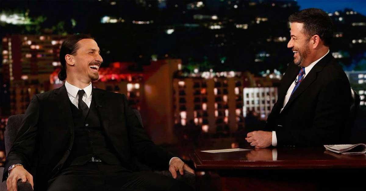 """Ibrahimovic a Jimmy Kimmel: """"Un Mundial sin mí no sería un Mundial"""""""