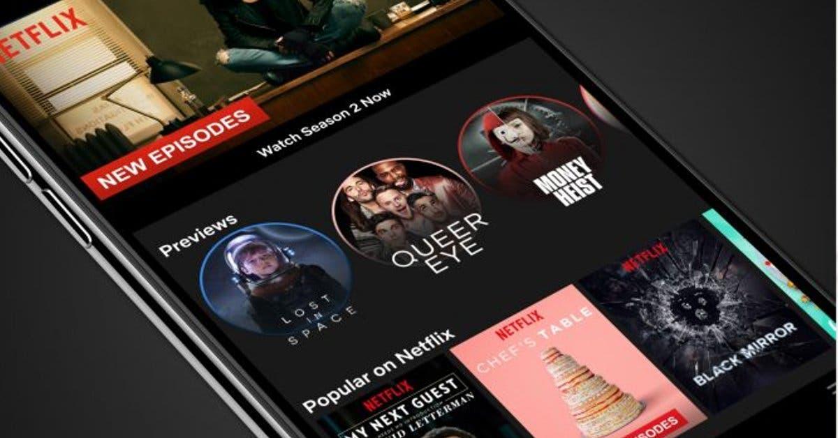 """Netflix ahora contará con """"stories"""" igual que Instagram"""