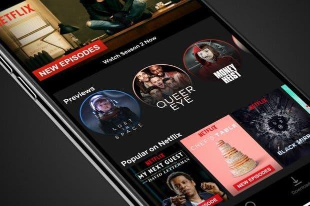 Netflix presentará los trailers de series y peliculas como
