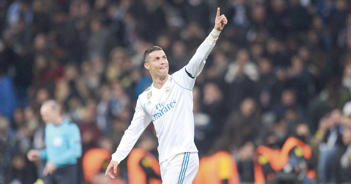 Cristiano Ronaldo va por marca de Maldini, Seedorf y Di Stéfano