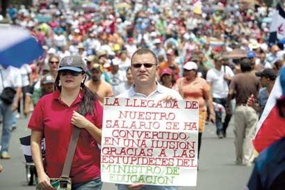 Sindicatos preparan gran huelga nacional para miércoles