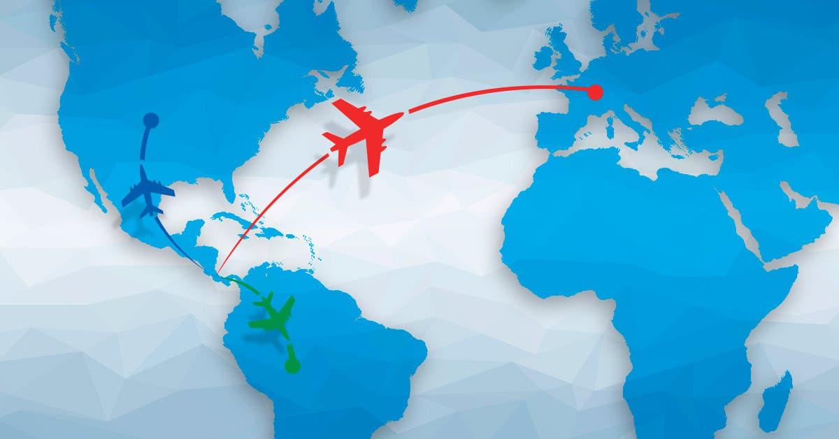 446 vuelos directos conectan al Juan Santamaría con América y Europa