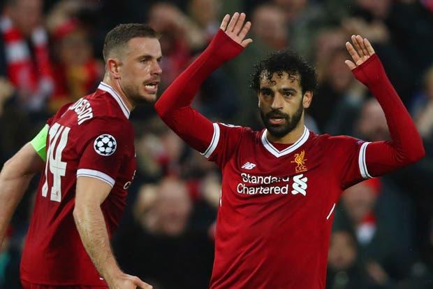 Mohamed Salah lideró al Liverpool en victoria ante la Roma