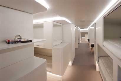 Airbus prepara camas y salas de reuniones para clase económica