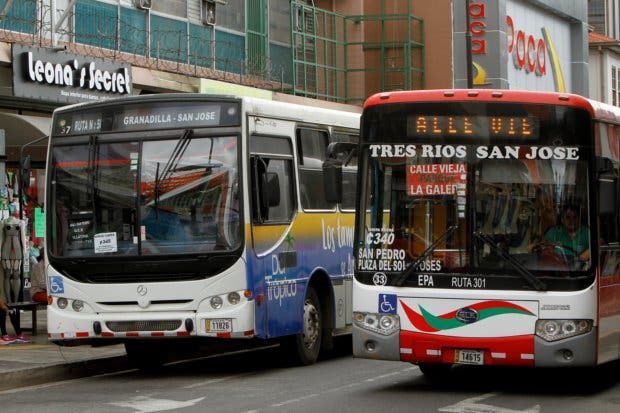 85% del aumento de los pasajes de autobús es para financiar a ARESEP
