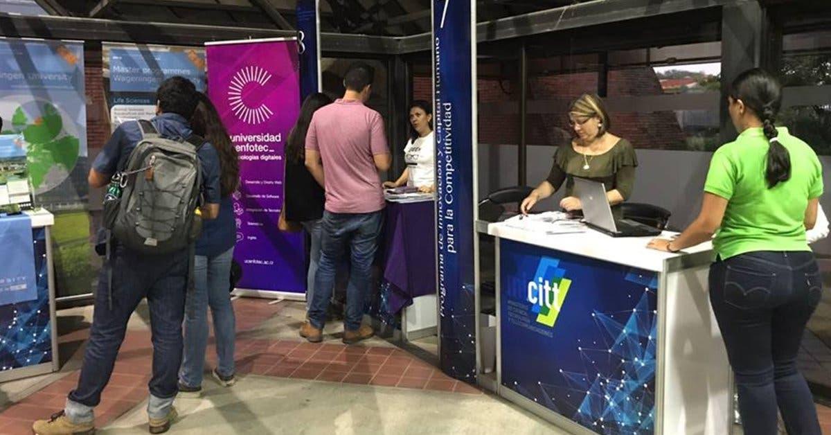 Feria de UCenfotec ofrecerá 110 empleos del sector tecnológico