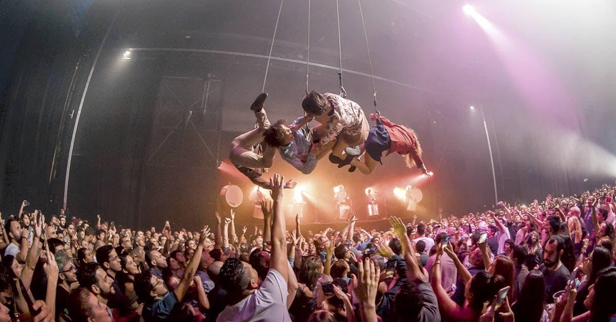 Fuerza Bruta, el espectáculo que incita a la liberación
