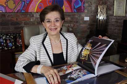 """Gloria Bejarano, ex primera dama, presentó el libro """"Si los muros de la Peni hablaran"""""""