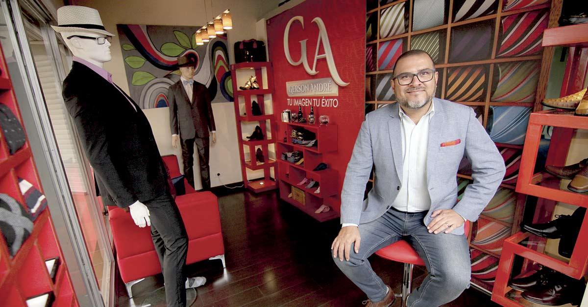 Gerson André viene a revolucionar la moda masculina