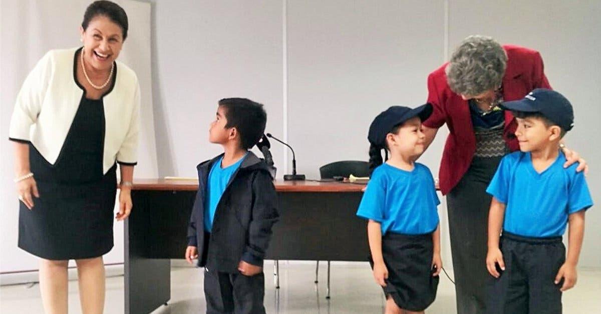Estudiantes de preescolar podrán usar uniforme para días fríos y gorras para los soleados
