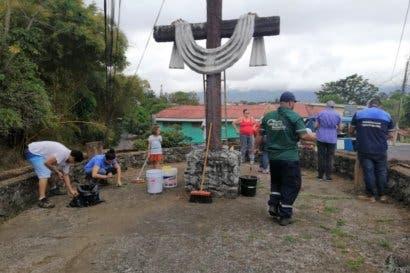 Montes de Oca comienza recuperación de espacios públicos