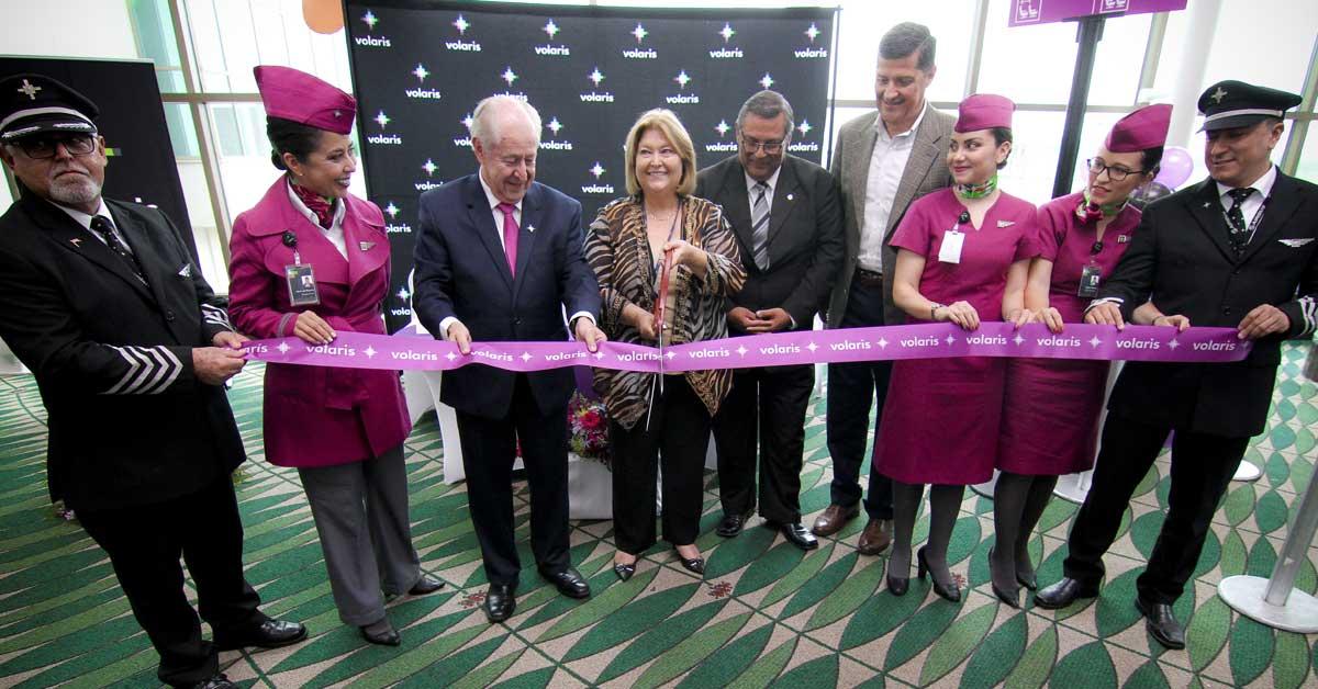 Volaris inició viajes a Washington D.C. vía El Salvador