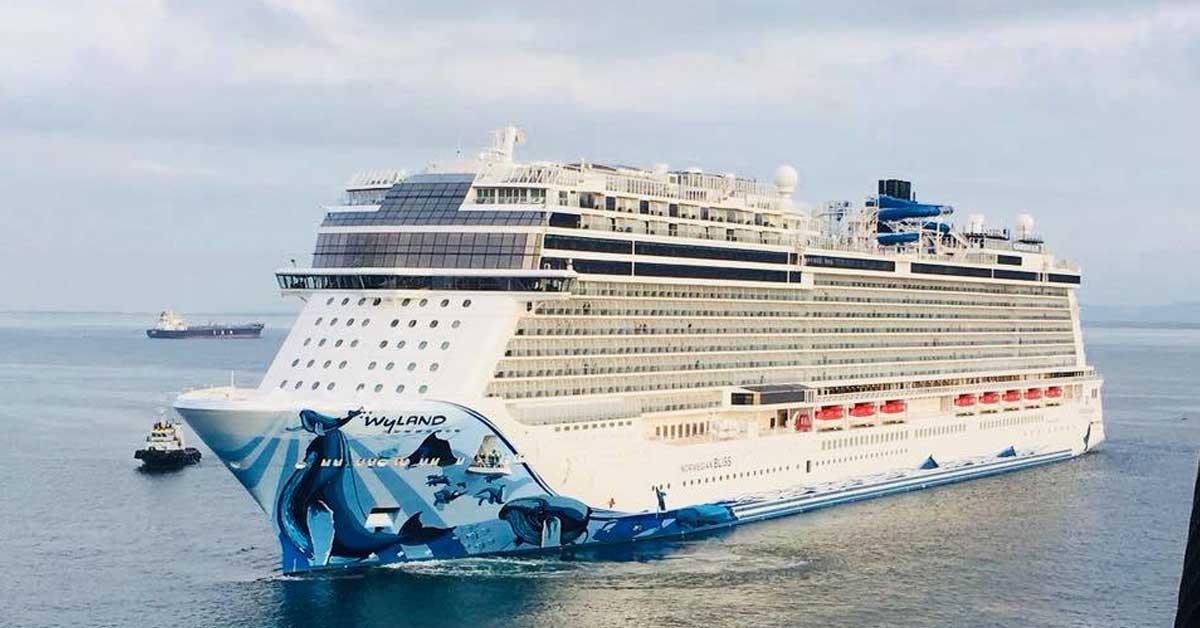 Megacrucero, de los más grandes del mundo, llega a Puerto Caldera