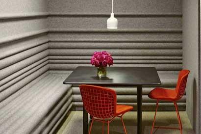 Texturas y colores son imprescindibles en su oficina