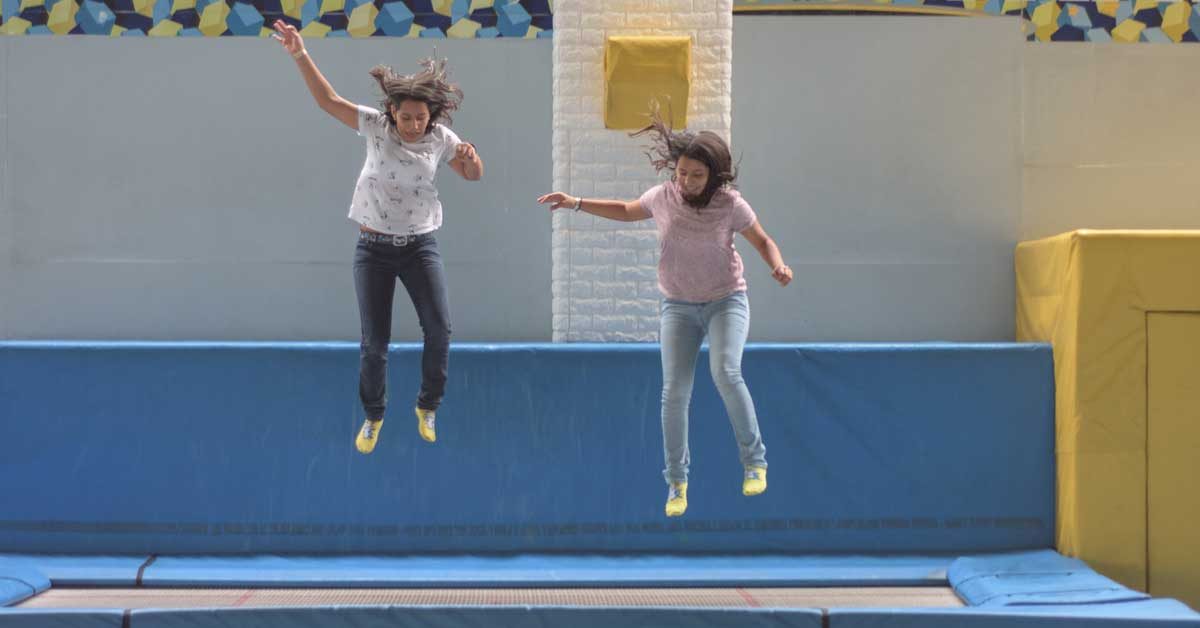 Franquicia de trampolines Jump Center abrió local en zona sur
