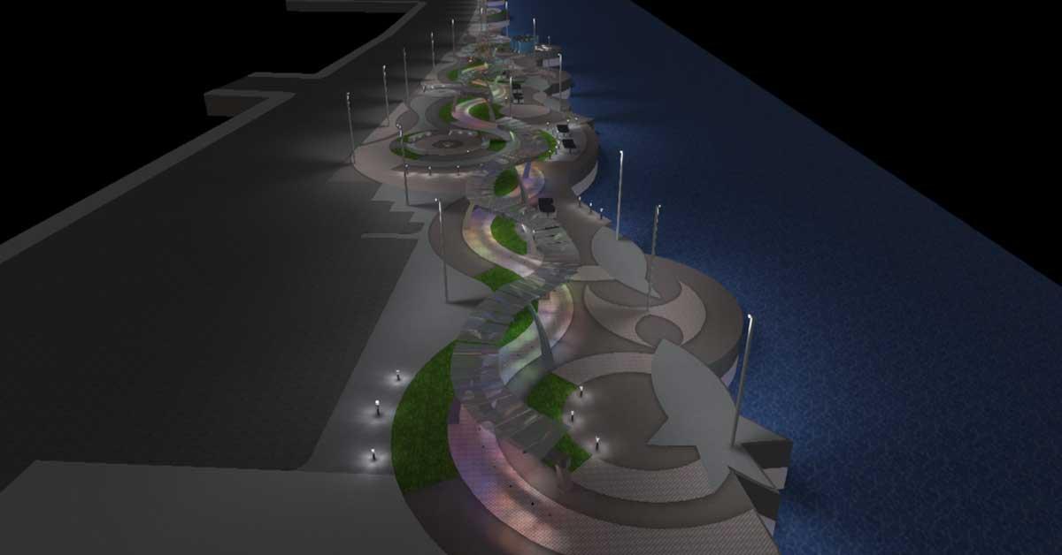 Puntarenas estrenará Parque El Muellero con inversión de cerca de ¢1.200 millones